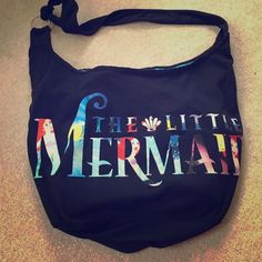 The little mermaid bag Ariel, the little mermaid bag/tote/purse. Never used Hot Topic Bags