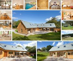 Looking for somewhere to stay with family and friends?  Flossy Brook - Somerset ★★★★★ Gold  Self catering holiday lodge with integral indoor swimming pool Sleeps 12 plus 2. #Somerset #sleeps12 #luxuryholidaylodge  www.sleeps12.com
