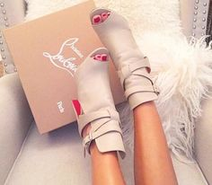 Perfect pair of booties.