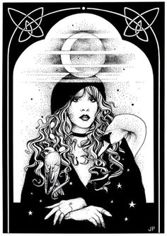 Mistress of my Faith Art Print by Johanna Pieterman. All prints are professionally printed, packaged, and shipped within 3 - 4 business days. Choose from multiple sizes and hundreds of frame and mat options. Stevie Nicks Fleetwood Mac, Stevie Nicks Witch, Stevie Nicks Quotes, Rock Poster, White Witch, Design Graphique, Look At You, Art Design, Art Inspo