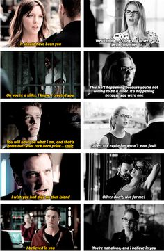 Felicity vs the others #Arrow #Olicity