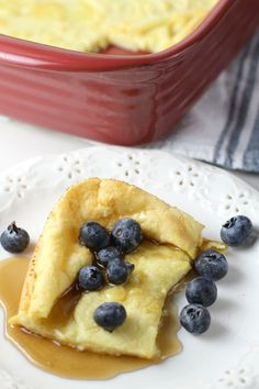 Pannukakku Finish Oven Pancake is a simple recipe with few ingredients! A light and airy pancake you bake in the oven and top with your favorite pancake toppings! This is a great recipe to make for the holidays or just a weekend brunch with the family! Easy Desserts, Delicious Desserts, Dessert Recipes, Easy Cooking, Cooking Recipes, Seafood Recipes, Quick Pancake Recipe, Breakfast Dishes, Breakfast Recipes