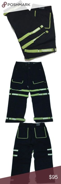 f48f658005 Marithe Francois Girbaud Jeans 40 Green Straps Marithe & Francois  Girbaud Jeans Size: Men's