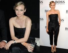 diane kruger in boss | Pictures of Diane Kruger at a Hugo Boss Party in London