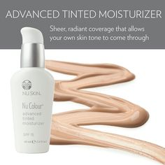 Nu Colour Advanced Tinted Moisturizer SPF 15 - Medium - The Beauty Guide Moisturizer For Oily Skin, Tinted Moisturizer, Moisturiser, Cc Cream, Color Correction, Anti Aging Skin Care, Healthy Skin, Serum, Concealer