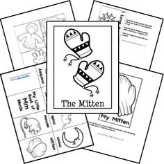 The Mitten printables from Homeschool Share