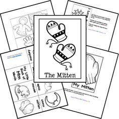 The Mitten Unit & Lapbook Printables
