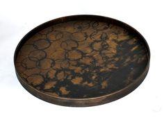 Watermark Tray - Black Driftwood
