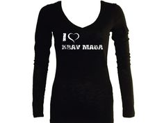 KRAV MAGA TRAINING SPORT FIGHTERS SELF DEFENSE SYSTEM TEES O-NECK UNBRANDED TEES