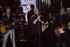 """Rascal Flatts performs """"Just Dropped In (To See What Condition My Condition Is In)"""" during the Kenny Rogers Tribute at """"The Annual CMA Awards,"""" live Wednesday Me Condition, Cma Awards, Rascal Flatts, Faith Hill, Country Music, Nov 6, Nashville, Wednesday, Live"""