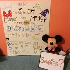 I worked really hard on this hopefully someone el… Disney themed Sadies proposal. I worked really hard on this hopefully someone else can take my idea and make someone else happy too. Cute Homecoming Proposals, Formal Proposals, Homecoming Posters, Hoco Proposals, Homecoming Ideas, Wedding Proposals, Marriage Proposals, Disney Proposal, Dance Proposal