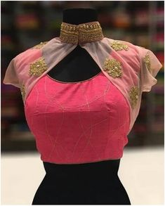 latest net blouse designs for sarees Looking for latest blouse designs for net sarees? Here are 46 ultimate net blouse collections that you can rock with any saree! Indian Blouse Designs, Blouse Back Neck Designs, Netted Blouse Designs, Designer Blouse Patterns, Fancy Blouse Designs, Bridal Blouse Designs, Designs For Dresses, Designer Blouses For Lehenga, Pattern Blouses For Sarees