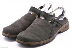 ef49e6e46 Teva Ventura slingback clogs womens sandals size 8.5 nubuck leather shoes  6934  Teva  Slingbacks