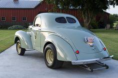 Pure Nostalgia! Leonard Wren's 1940 Blown Willys Gasser - Hot Rod Network