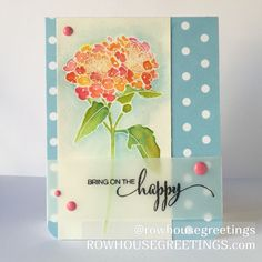 Happy Birthday Card Boho Birthday Card Pink by RowhouseGreetings Birthday Wishes For Her, Happy Birthday Cards, Handmade Greetings, Greeting Cards Handmade, Penny Black Stamps, Altenew Cards, Watercolor Cards, Watercolour, Card Making Inspiration
