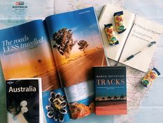 Currently reading Tracks by Robyn Davidson for this month's #TravelBookChat
