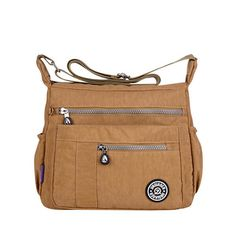Women Nylon Casual Waterproof Multi-pocket Shoulder Bags Crossbody Bags is Worth Buying - NewChic