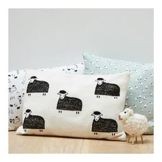 Coussin rectangulaire Moutons