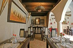 Salle à manger - Riad Opale - Marrakech