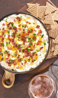 "Loaded ""Baked Potato"" Dip!"