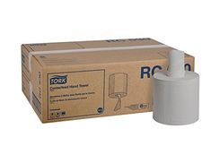 Tork Universal Centerfeed Paper Towel, Width x Length, White (Case of 6 Rolls, 530 per Roll, Towels)