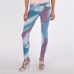 Hudson Jeans Women's Contemporary Nico Mid Rise Super Skinny Jean #VonMaur #HudsonJeans #Multicolor