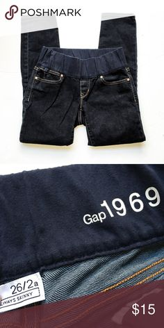 Gap Maternity Jeans Skinny style maternity jeans from The Gap. Size 26/2. As always, all items are from a smoke-free and pet-free home   Thanks for shopping Reclaimed Treasure Gap Jeans Skinny
