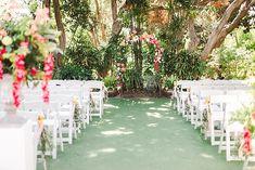Colorful Summer San Diego Botanic Garden Wedding