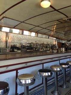 Brooklyn Diner Set in a restored 1927 dining car Arrive early for breakfast