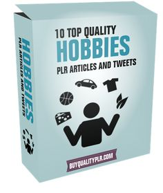 10 Top Quality Hobbies PLR Articles And Tweets - http://www.buyqualityplr.com/plr-store/10-top-quality-hobbies-plr-articles-tweets-2/.  #Hobbies #Cycling #Birdwatching #FurnitureRestoration #Scrapbooks 10 Top Quality Hobbies PLR Articles And Tweets In this PLR Content Pack You'll get 10 Top Quality Hobbies PLR Articles Pack with Private Label Rights to help you dominate the Hobbies market which is a highly profitable and i....