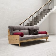 Indie spices things up by introducing iconic legs that add a retro touch to an ultra-modern design. A contrasting piece, Indie is not only visually enticin. Chair Bed, Sofa Bed, Couch, Bordeaux, Tatami, Indie, Futon Mattress, Scandi Style, White Bedding