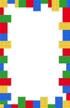 Free Printable Lego Birthday Party Invitation Template