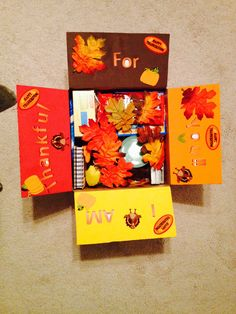 Thanksgiving Care package idea