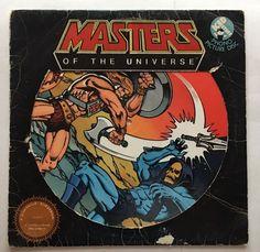 MASTERS OF THE UNIVERSE HEMAN VINYL 1983 MATTEL RECORDS LP FREE SHIPPING