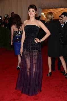 Marion Cotillard in Christian Dior at the 2012 Met Gala... my favorite dress of the night.