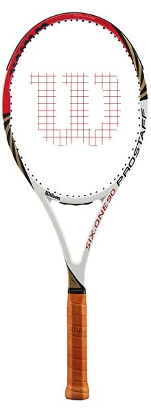 Wilson BLX Pro Staff Six.One 90 Tennis Racquet Federer's weapon of choice… Wilson Tennis Racquets, Tennis Racket, Tennis Shop, Weapon, Ann, Money, Sports, Hs Sports, Silver