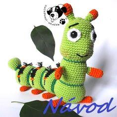 Housenka Zelinka - návod na háčkování Yoshi, Dinosaur Stuffed Animal, Toys, Animals, Fictional Characters, Art, Animales, Art Background, Animaux