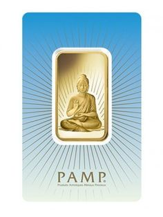 PAMP Suisse 1 Oz Buddha Gold Bar  This newly designed 1 OZ PAMP Suisse Gold Bar is manufactured in Switzerland, and is composed of 5 grams 999.9% fine gold.  See more at http://www.bulliontradingllc.com/buddha-1-oz-pamp-gold-bar
