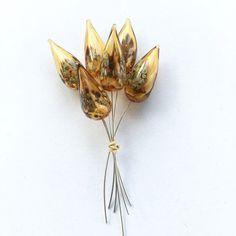 Handmade #lampwork Light Amethyst Silver Glass  Headpin  #handmade #light #amethyst #headpin #silver #glass