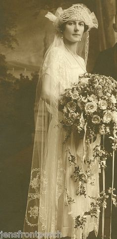 Awesome 1920's wedding photo