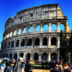 #Colosseo #Roma #Italy  #Placetogo