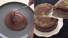 TORTA DI CREPES una buona alternativa alla solita torta al cioccolato : 6 uova 500 gr farina 1 L.