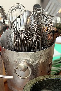 A beautiful kitchen idea for whisks