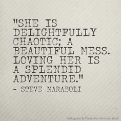 loving her is a splendid adventure