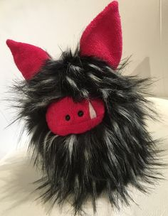 Lookee here - a new Fuzzling!   This is Zipper and he's ready for adoption, visit my website to connect with me for details.