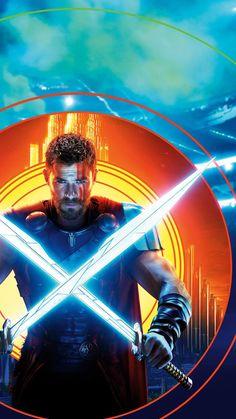"""Wallpaper for """"Thor: Ragnarok"""" Marvel Avengers, Marvel Dc Comics, Marvel Heroes, Wallpaper Thor, Die Wallpaper, Marvel Characters, Marvel Movies, Stan Lee, Marvel Universe"""