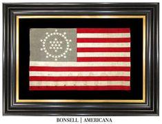 48 Star Antique American Flag Designed by Wayne Whipple