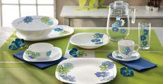 """Florecen las nuevas colecciones de Luminarc, os presentamos la vajilla """"Fresh Garden"""" la novedad de esta primavera. ¿Has pensado en darle un toque fresco a tu hogar?"""