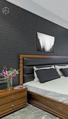 Ways to Decorate Your Home Bedroom Cupboard Designs, Bedroom Closet Design, Bedroom Furniture Design, Home Room Design, Modern Bedroom Design, Bed Furniture, Bedroom Decor, Bed Back Design, Wood Bed Design