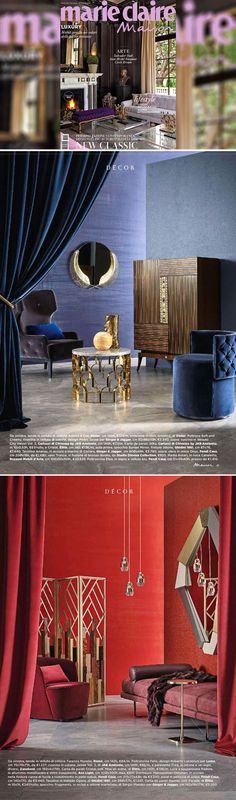 Thanks to #MarieClaireMaison Italia for these beautiful features on the October issue: #Fendi Casa and #Trussardi Casa furnishing, became protagonists of Fall trends with selected pieces from last collections.